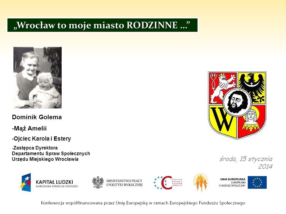 """""""Wrocław to moje miasto RODZINNE …"""