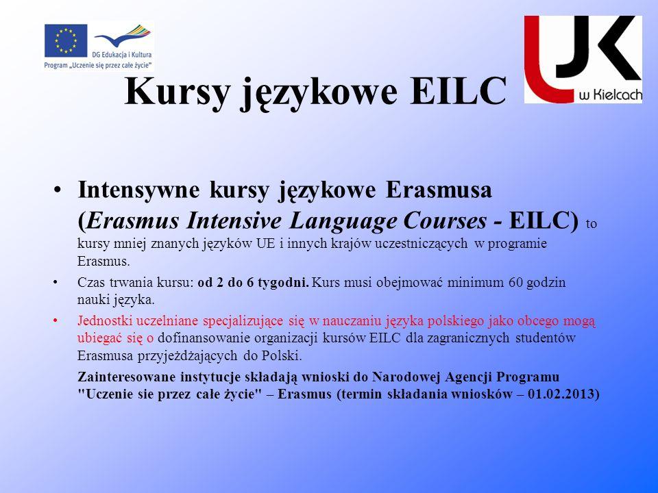 Kursy językowe EILC