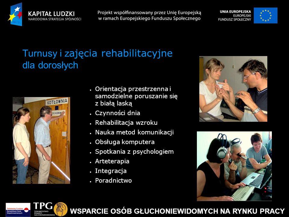 Turnusy i zajęcia rehabilitacyjne dla dorosłych