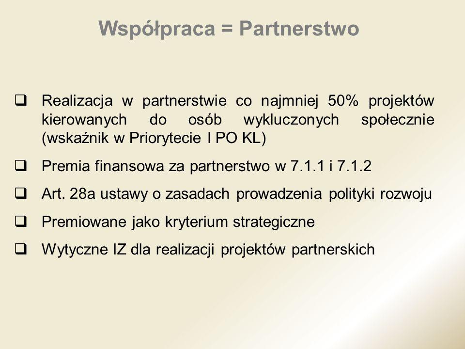 Współpraca = Partnerstwo