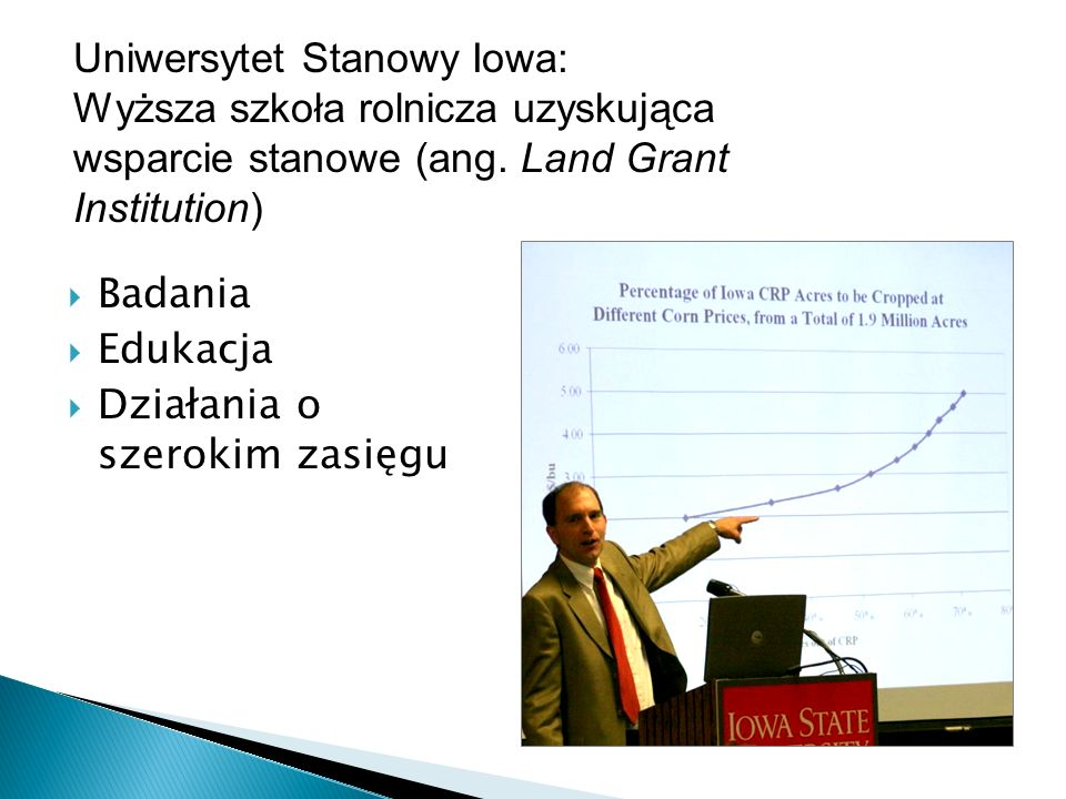 Iowa State University: A Land Grant Institution