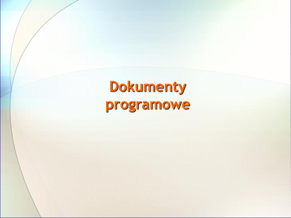 Dokumenty programowe