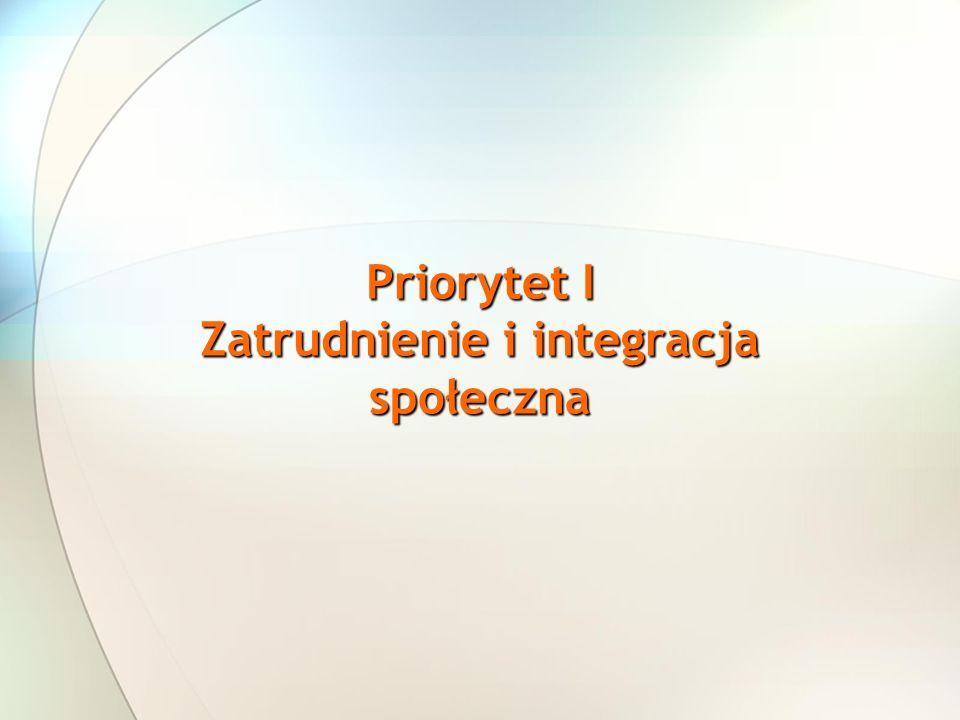Zatrudnienie i integracja społeczna
