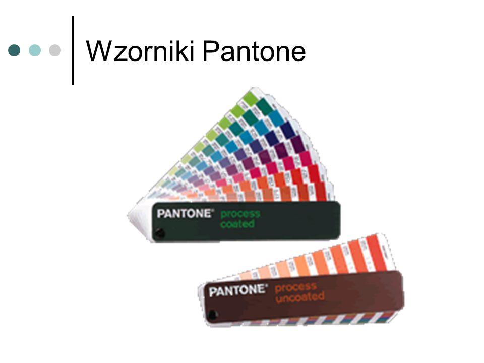 Wzorniki Pantone