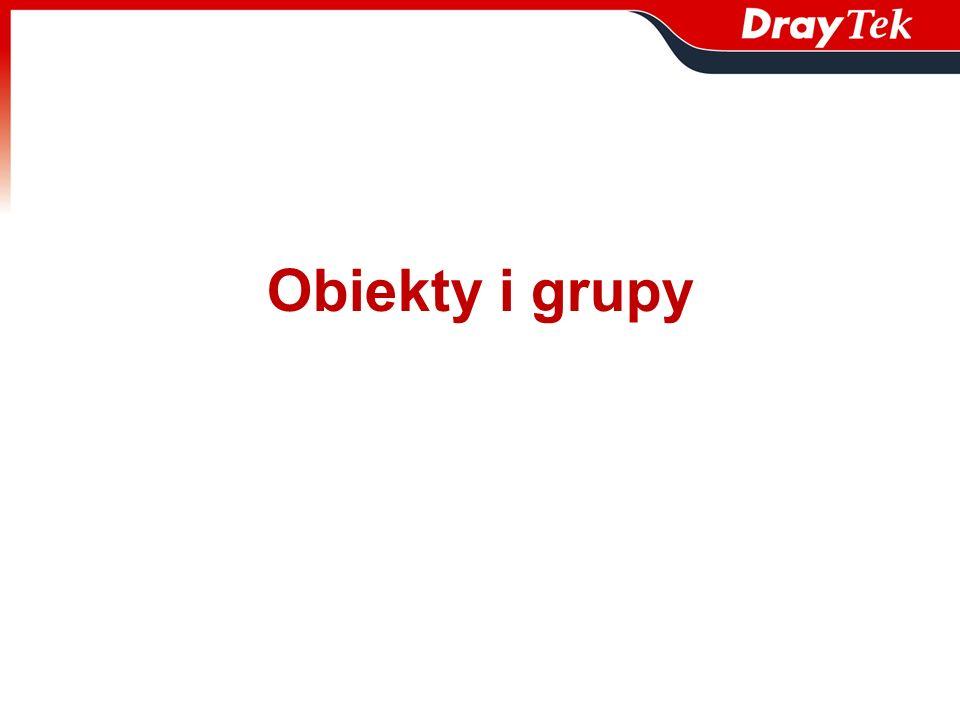 Obiekty i grupy