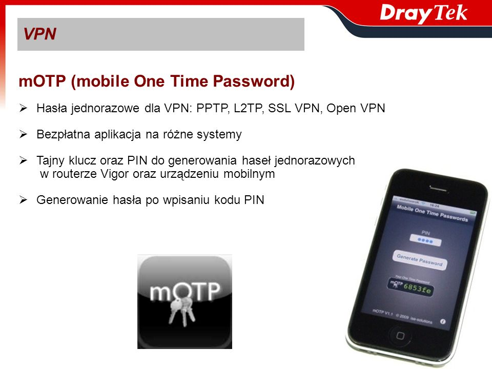 mOTP (mobile One Time Password)
