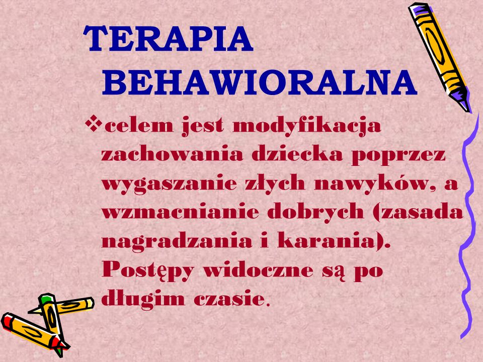 TERAPIA BEHAWIORALNA