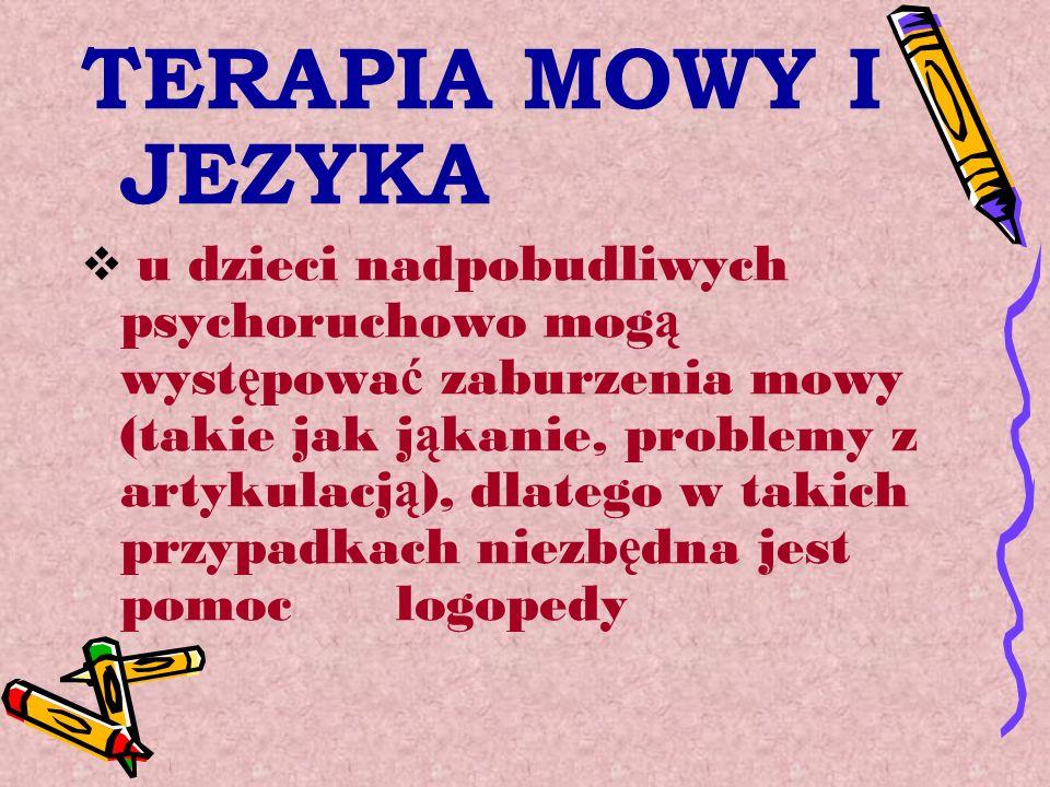 TERAPIA MOWY I JEZYKA