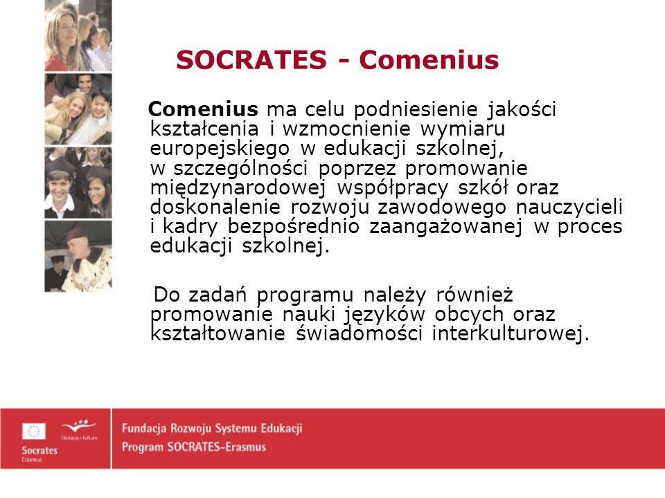 SOCRATES - Comenius