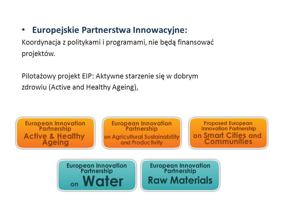 Europejskie Partnerstwa Innowacyjne:
