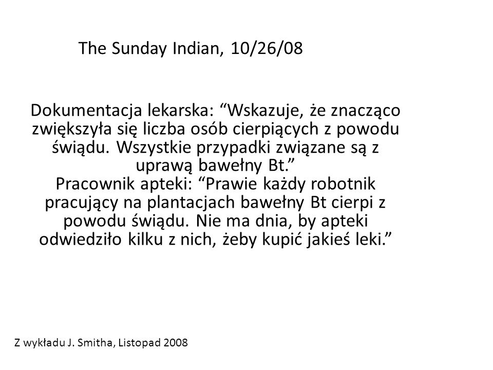 The Sunday Indian, 10/26/08
