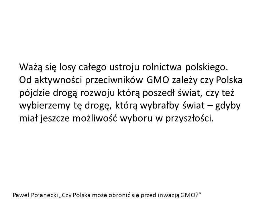 Ważą się losy całego ustroju rolnictwa polskiego
