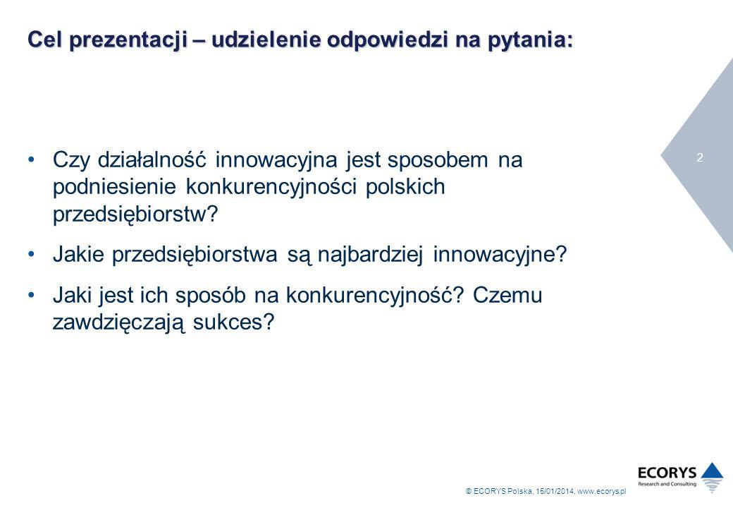 Cel prezentacji – udzielenie odpowiedzi na pytania: