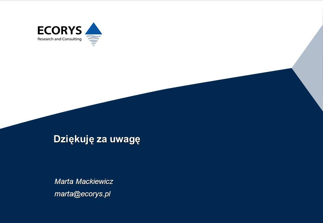 Marta Mackiewicz marta@ecorys.pl