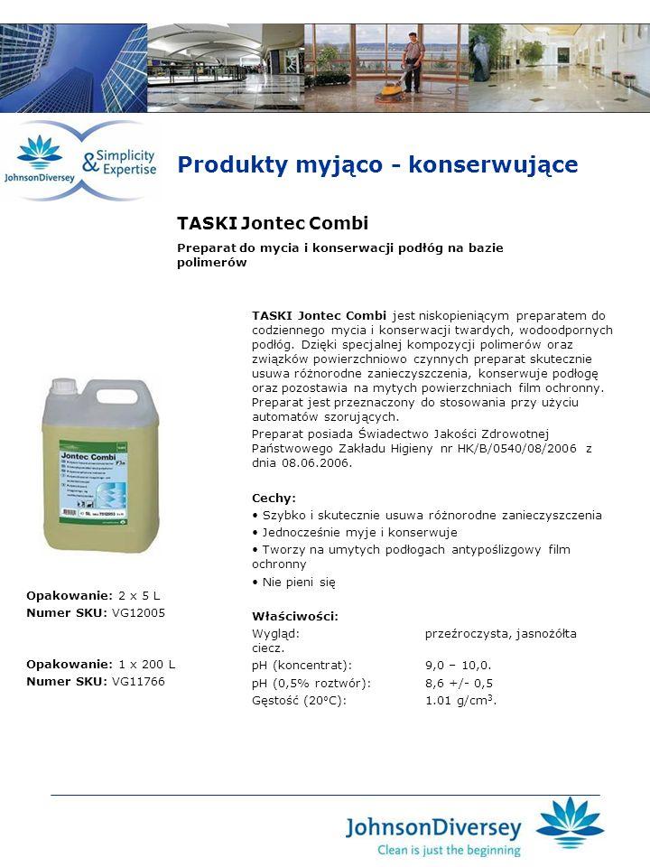 Produkty myjąco - konserwujące