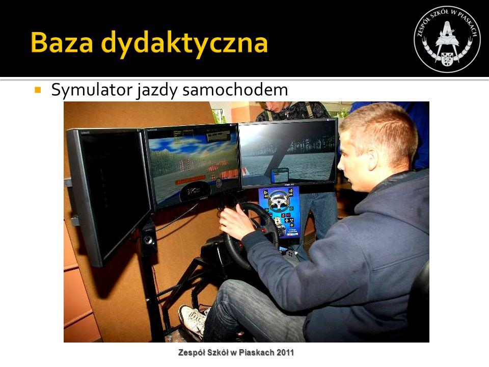 Baza dydaktyczna Symulator jazdy samochodem