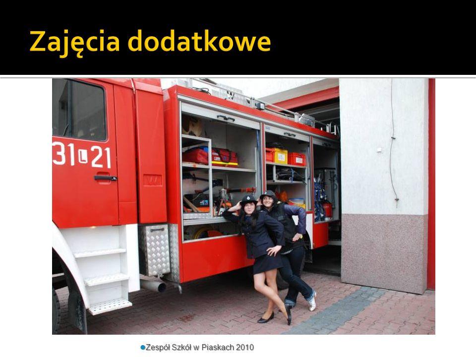 Zajęcia dodatkowe Zespół Szkół w Piaskach 2010