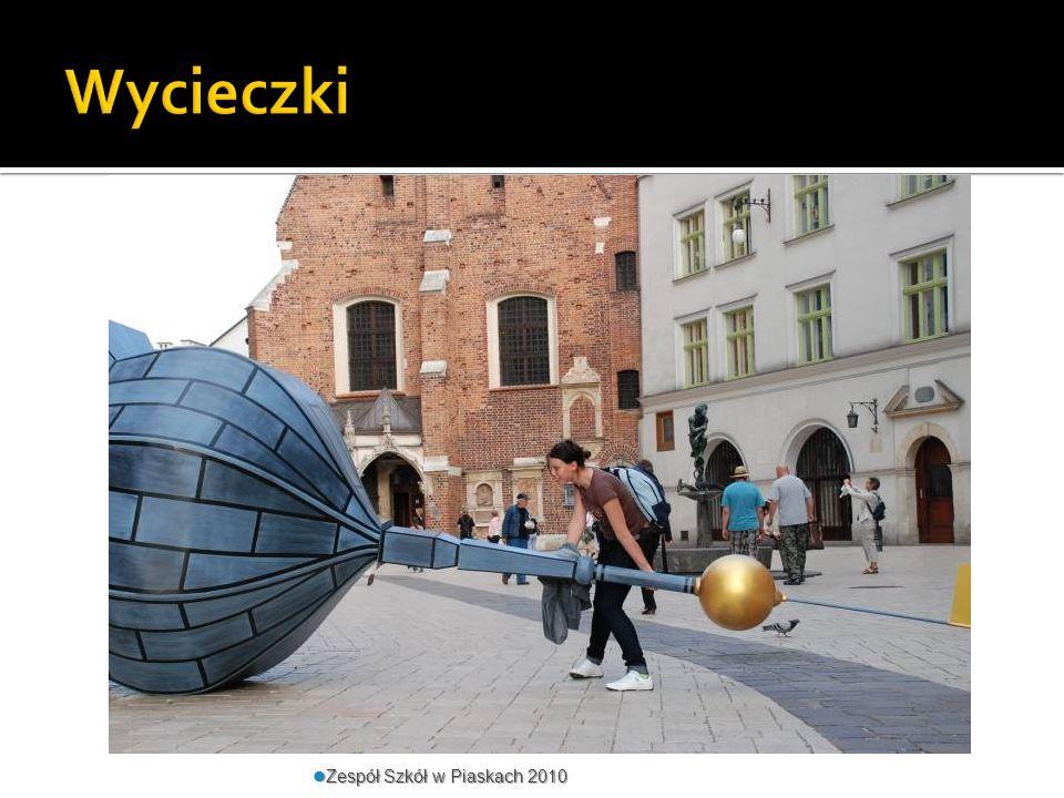 Wycieczki Zespół Szkół w Piaskach 2010