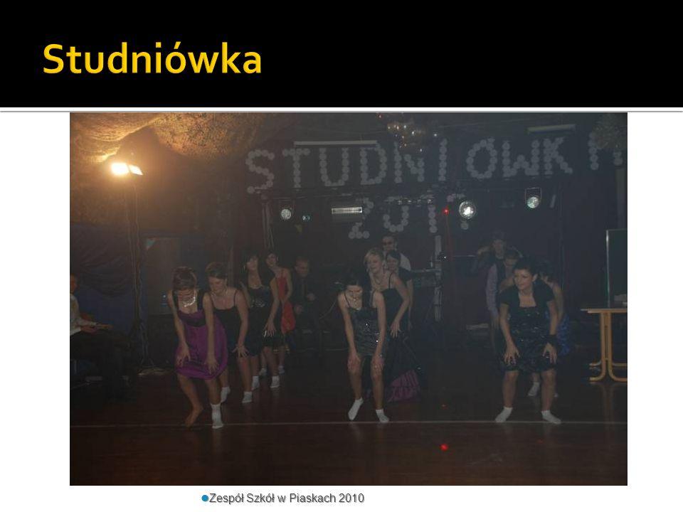 Studniówka Zespół Szkół w Piaskach 2010