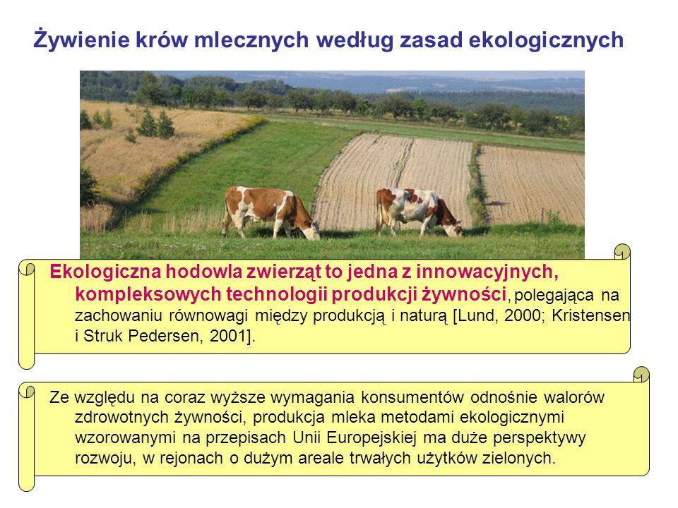 Żywienie krów mlecznych według zasad ekologicznych