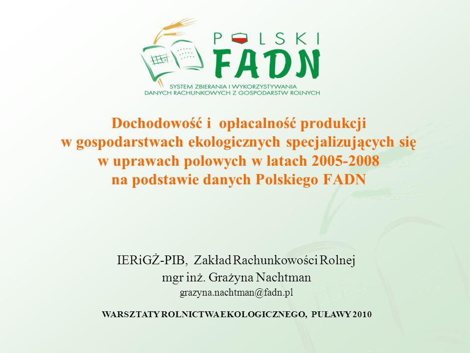 WARSZTATY ROLNICTWA EKOLOGICZNEGO, PUŁAWY 2010