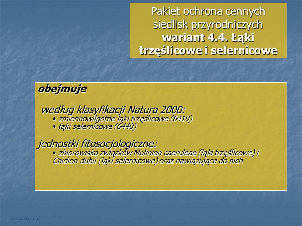 Pakiet ochrona cennych siedlisk przyrodniczych wariant 4. 4
