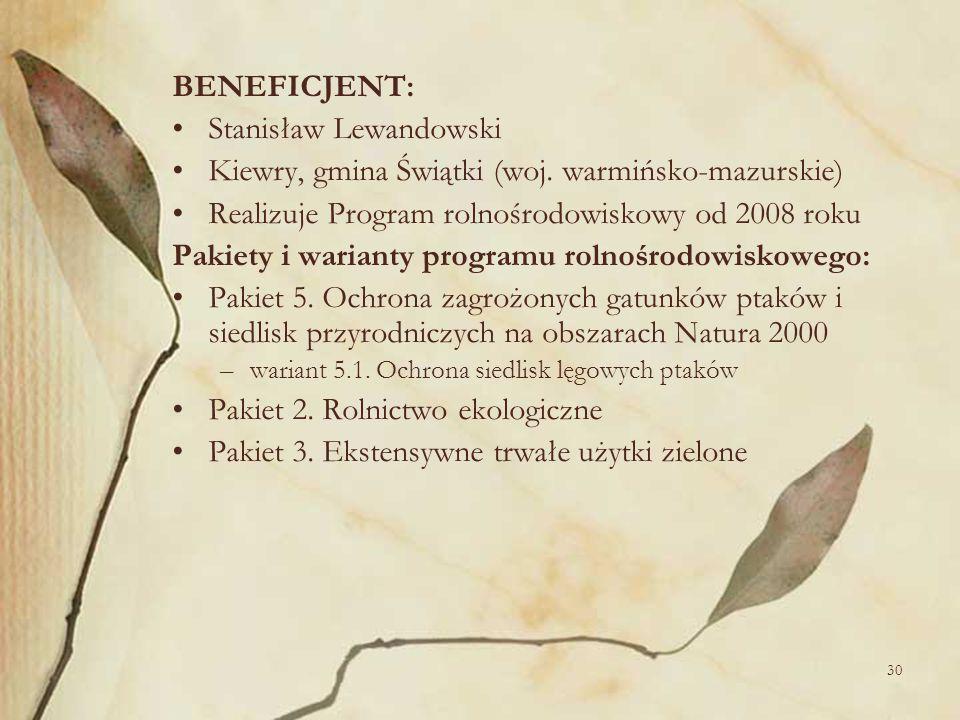 Stanisław Lewandowski Kiewry, gmina Świątki (woj. warmińsko-mazurskie)