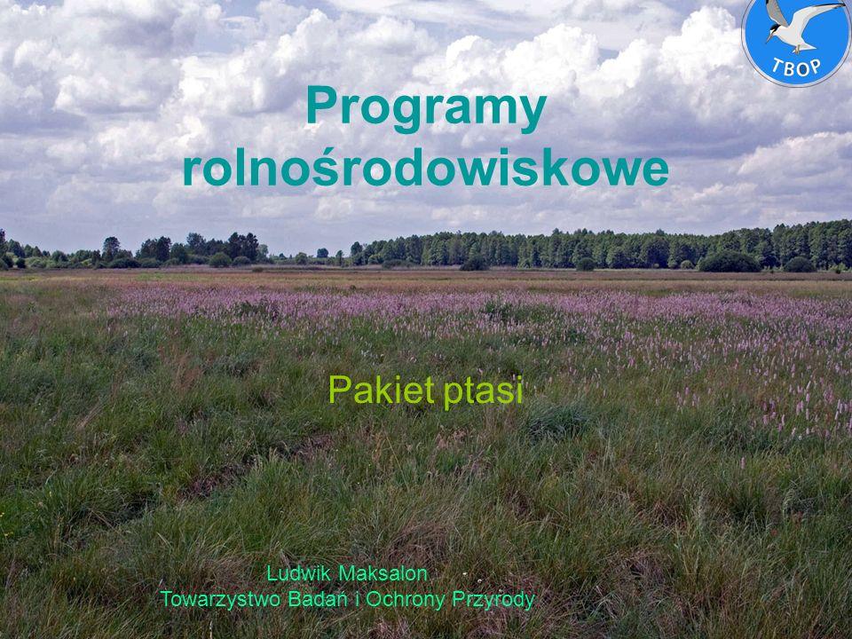 Programy rolnośrodowiskowe