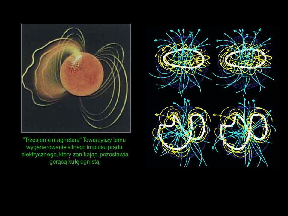 Trzęsienie magnetara Towarzyszy temu