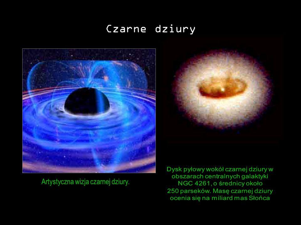 Czarne dziury Artystyczna wizja czarnej dziury.