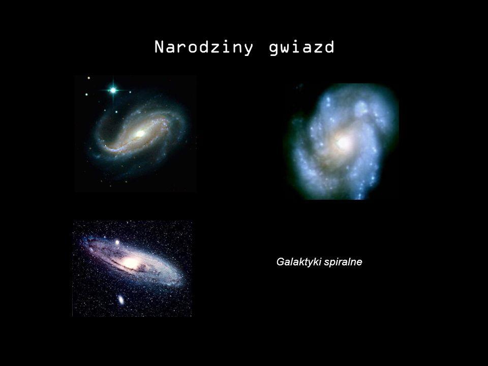 Narodziny gwiazd Galaktyki spiralne