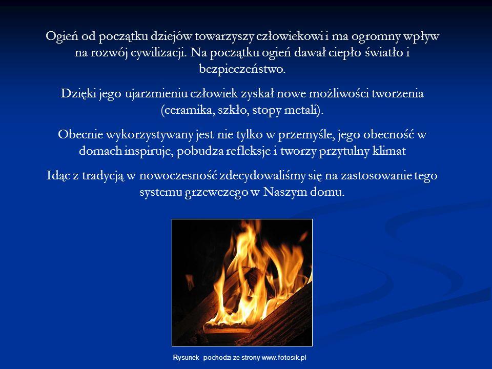Ogień od początku dziejów towarzyszy człowiekowi i ma ogromny wpływ na rozwój cywilizacji. Na początku ogień dawał ciepło światło i bezpieczeństwo.