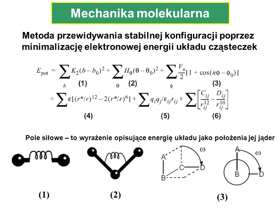 Mechanika molekularna