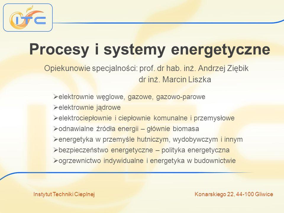 Procesy i systemy energetyczne