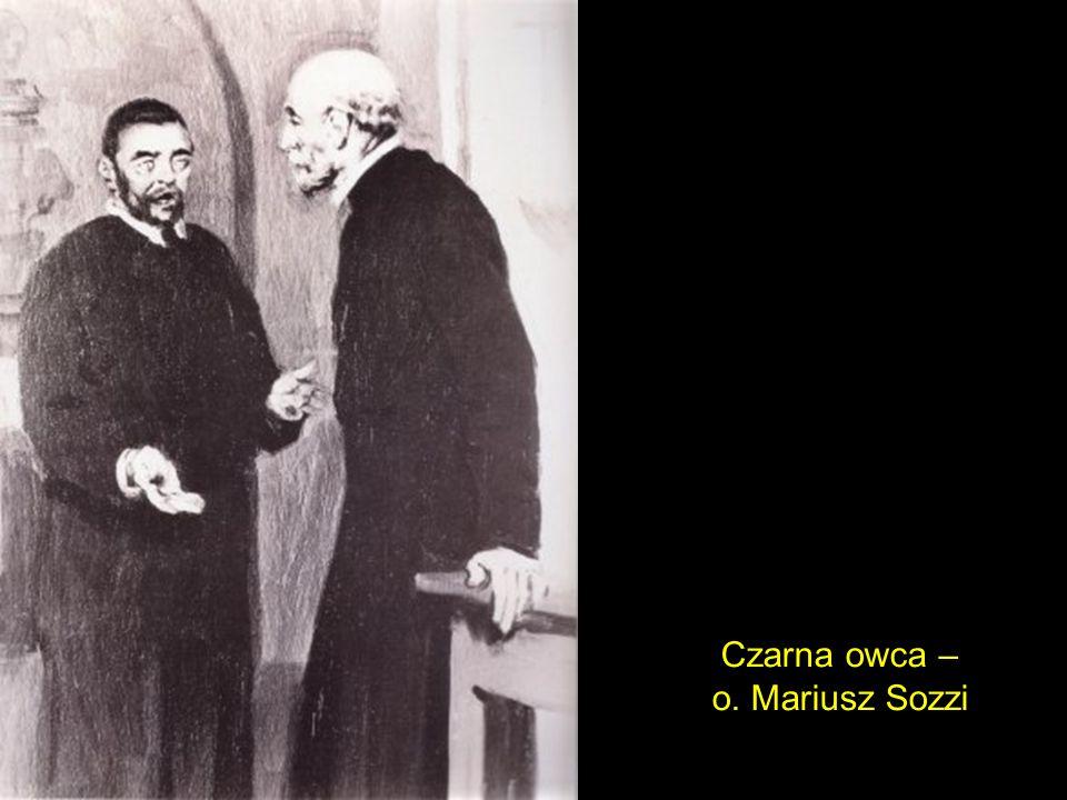 Czarna owca – o. Mariusz Sozzi