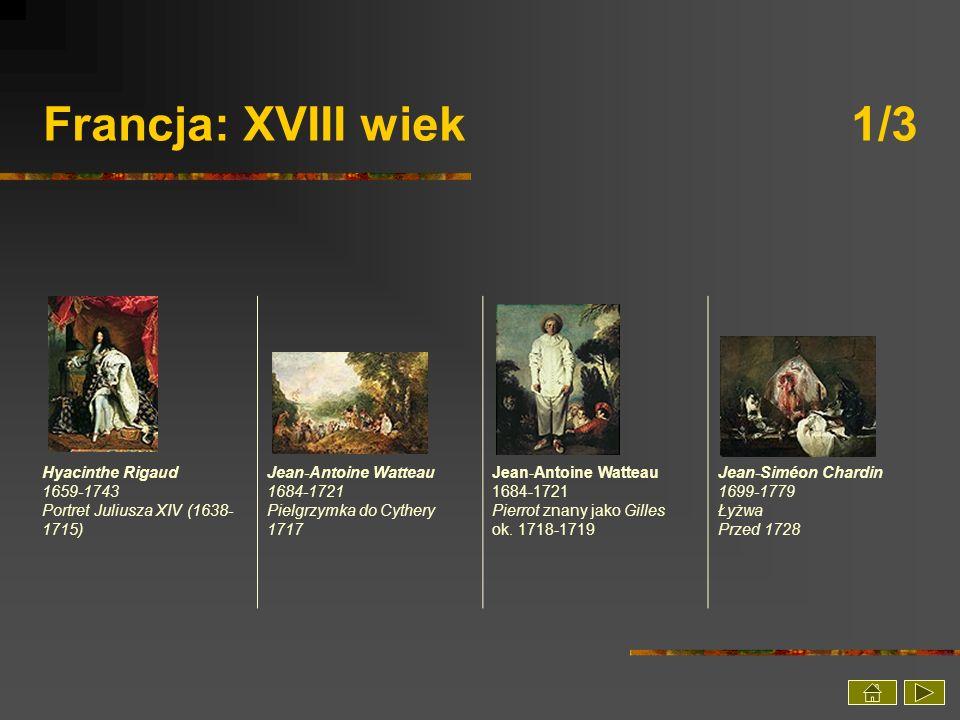 Francja: XVIII wiek 1/3 Hyacinthe Rigaud 1659-1743 Portret Juliusza XIV (1638-1715)