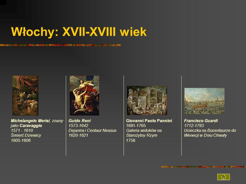 Włochy: XVII-XVIII wiek