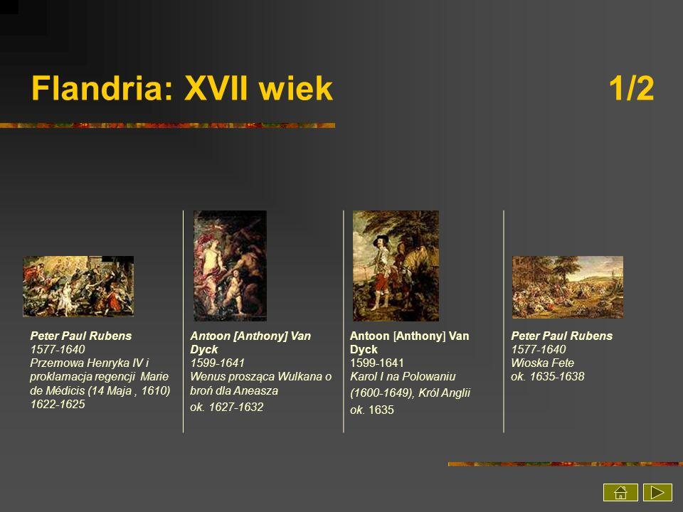 Flandria: XVII wiek 1/2