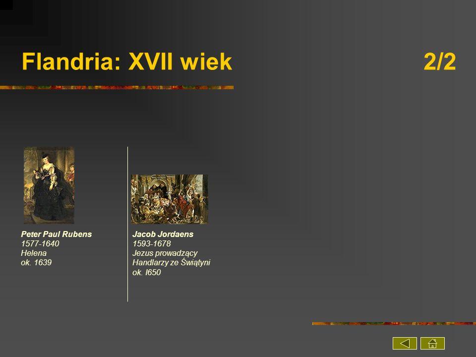 Flandria: XVII wiek 2/2 Peter Paul Rubens 1577-1640 Helena ok. 1639