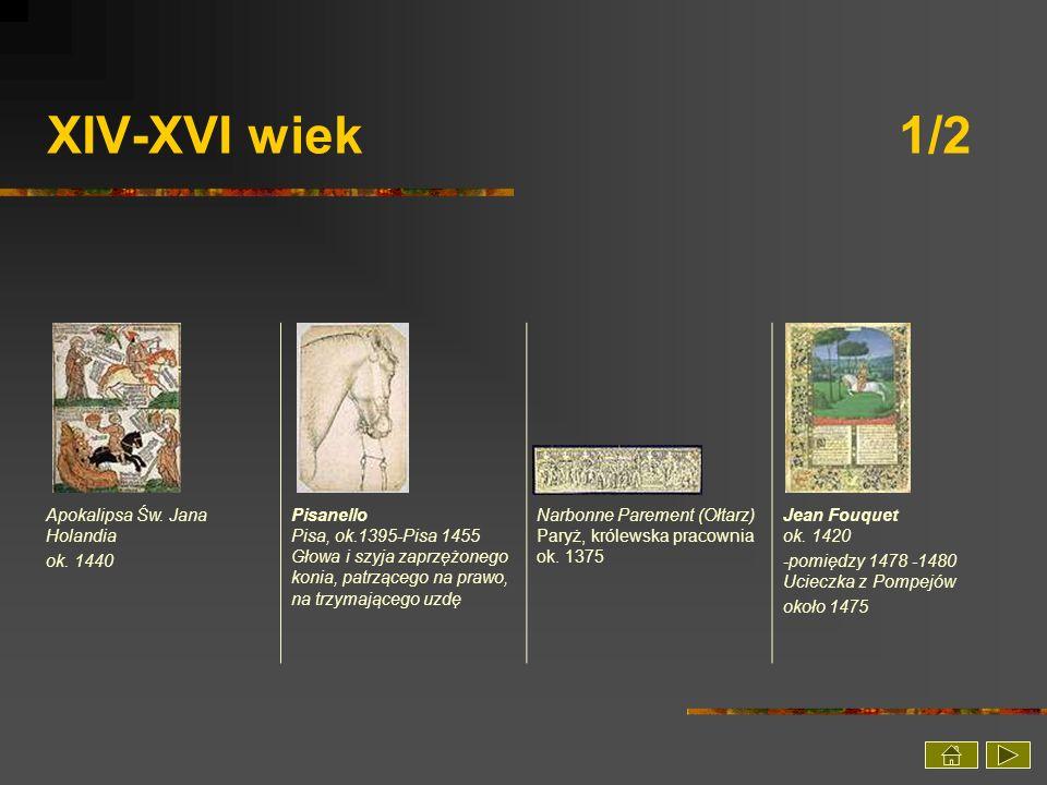 XIV-XVI wiek 1/2 Apokalipsa Św. Jana Holandia ok. 1440