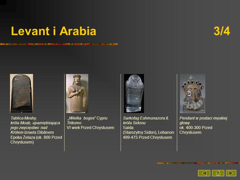 Levant i Arabia 3/4