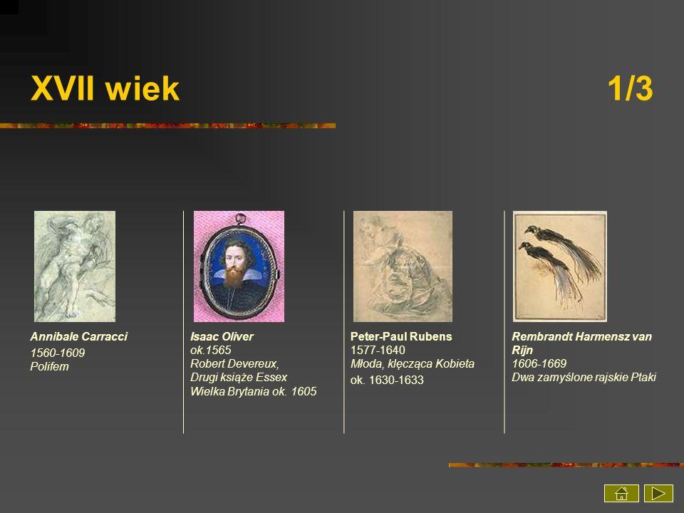 XVII wiek 1/3 Annibale Carracci 1560-1609 Polifem