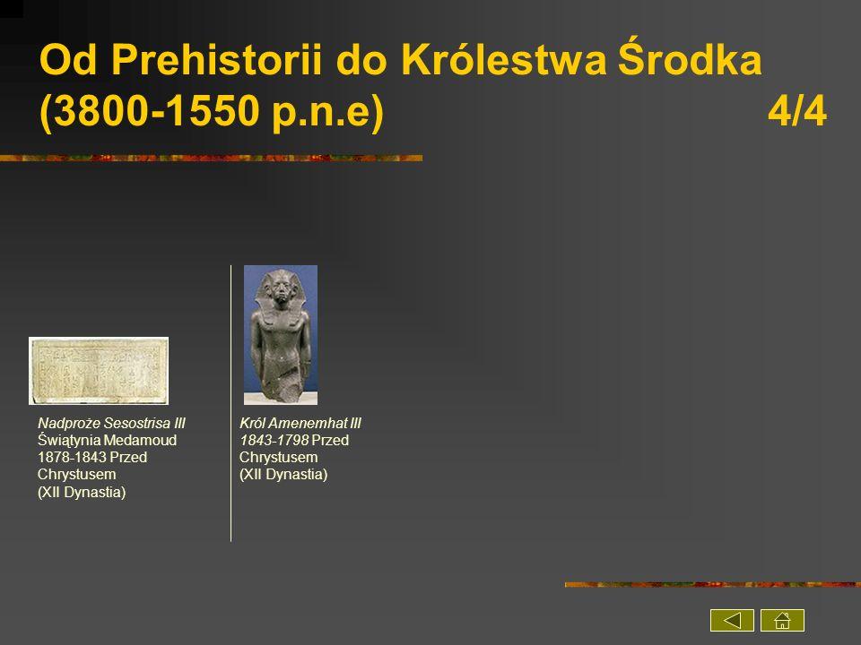 Od Prehistorii do Królestwa Środka (3800-1550 p.n.e) 4/4