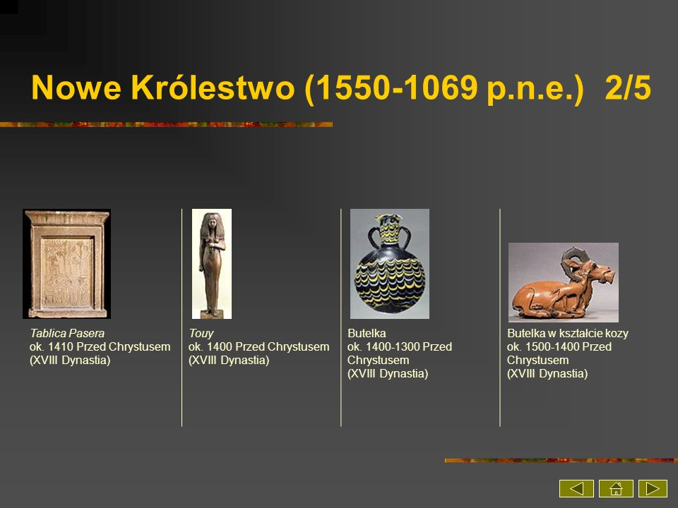 Nowe Królestwo (1550-1069 p.n.e.) 2/5