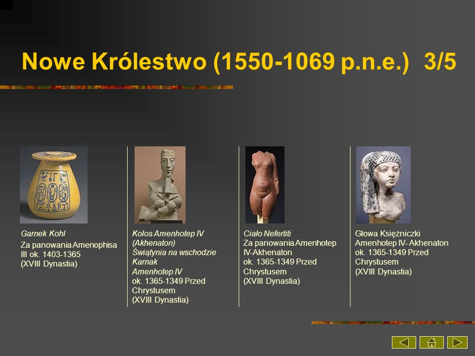 Nowe Królestwo (1550-1069 p.n.e.) 3/5