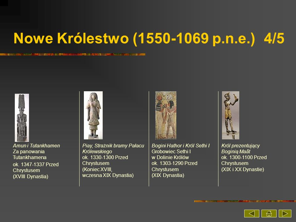 Nowe Królestwo (1550-1069 p.n.e.) 4/5