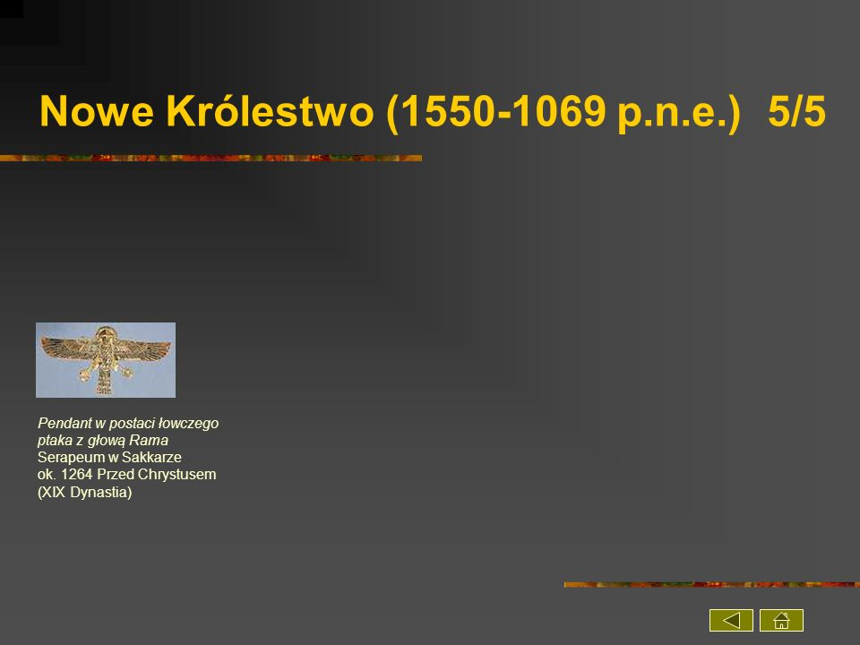 Nowe Królestwo (1550-1069 p.n.e.) 5/5