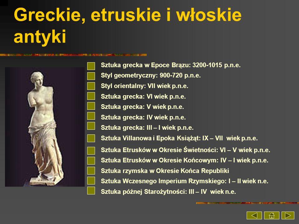 Greckie, etruskie i włoskie antyki