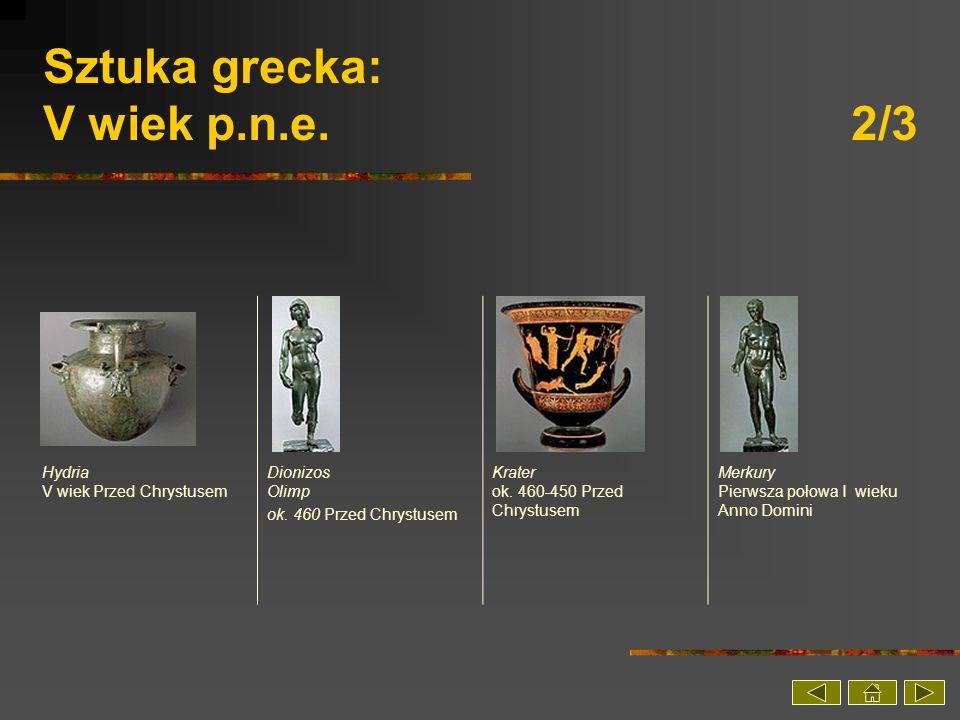 Sztuka grecka: V wiek p.n.e. 2/3