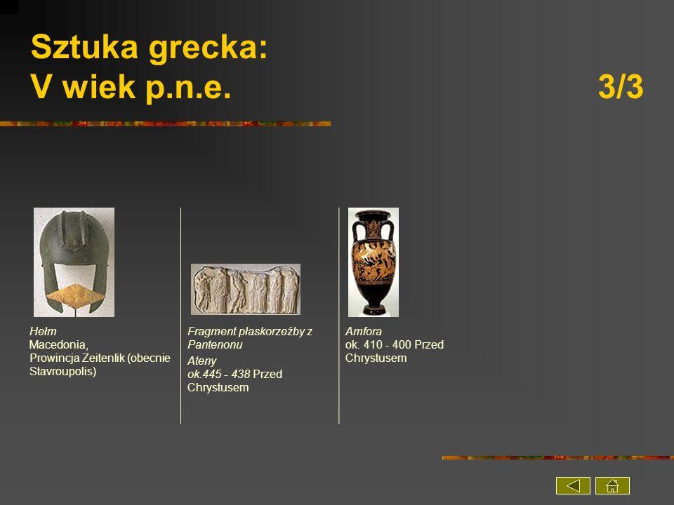 Sztuka grecka: V wiek p.n.e. 3/3